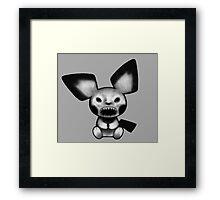Pokemon - Pichu Demon Framed Print