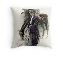 Horse Women Throw Pillow