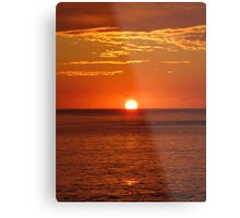 Surnrise on the Bower Metal Print