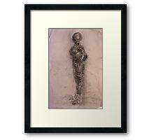 Bodies 2: Figure Sketch Framed Print