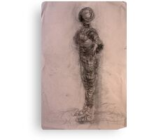 Bodies 2: Figure Sketch Canvas Print