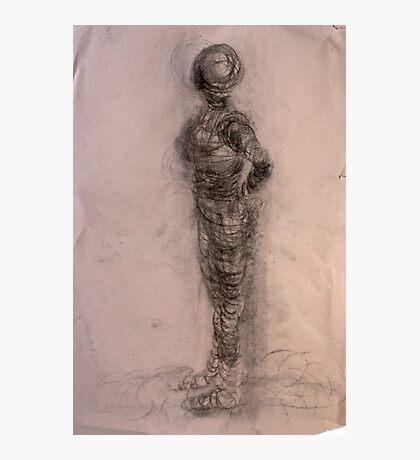 Bodies 2: Figure Sketch Photographic Print