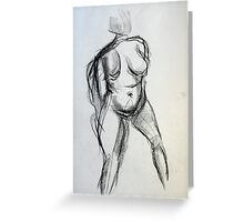Bodies 1: Figure Sketch Greeting Card