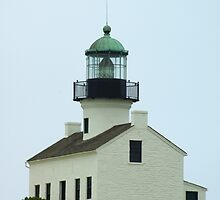 Old Point Loma Lighthouse by Karen Checca