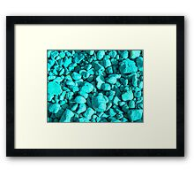 River Rocks Framed Print