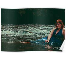 mermaid 002. Poster