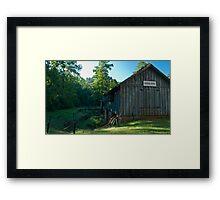 Blower House Framed Print