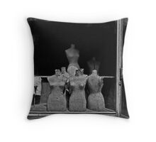 Mannequins, Athens Throw Pillow