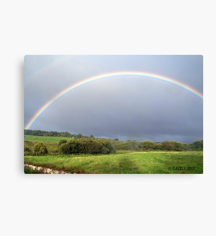 irish rainbow Canvas Print