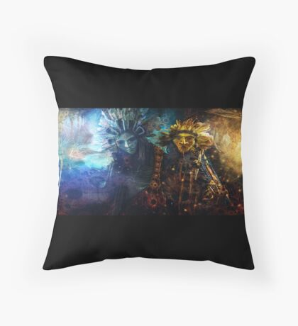 The spirit world Throw Pillow