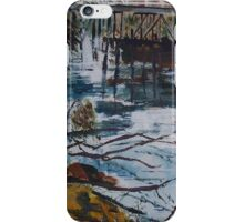 The Old Trestle Bridge , Seymour, Vic, Australia iPhone Case/Skin