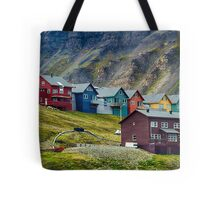 Remote Town Tote Bag