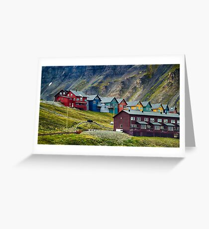 Remote Town Greeting Card