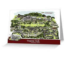 Virginia Tech Illustration Greeting Card