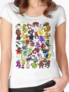 Have Babies Collage Women's Fitted Scoop T-Shirt