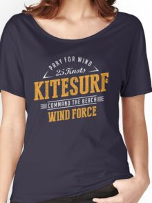 Kitesurfing Extreme Sport Women's Relaxed Fit T-Shirt