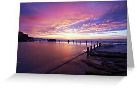 Mahon Pool Sunrise by Mark  Lucey