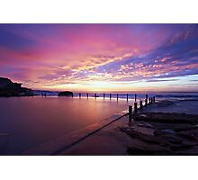 Mahon Pool Sunrise Photographic Print