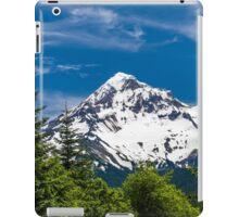 Mount Hood Framed by Fir Trees iPad Case/Skin