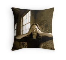 I thought I was lost but I was never there! Throw Pillow