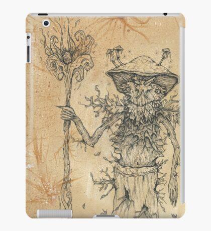 Woodland Mushroom Creature iPad Case/Skin