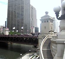 Riverwalk; Mag-Mile on Top by KJ Patten Photography