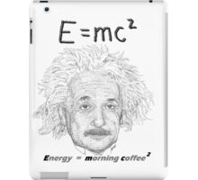 Einstein coffee iPad Case/Skin