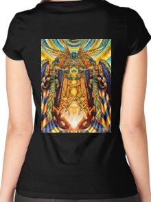 Dmt King Women's Fitted Scoop T-Shirt