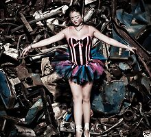 """Bon-Ton Ballerina from series: """"Atomic Frolic"""" by broaddivision"""