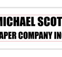 Michael Scott Paper Company Sticker
