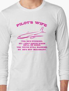 Pilot's Wife Humor  T-Shirt