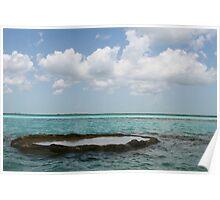 Laguna Bacalar - Mexico Poster