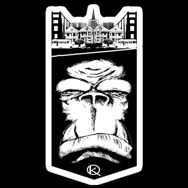 Gorilla King: SF by kagcaoili