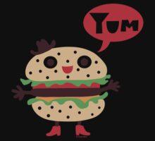 Cheeseburger yum Kids Clothes