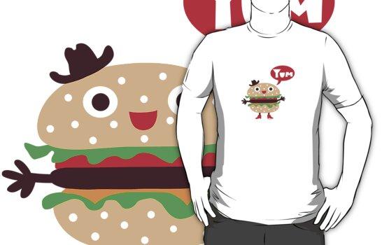 Cheeseburger yum by Andi Bird