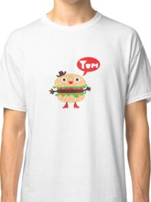 Cheeseburger yum Classic T-Shirt