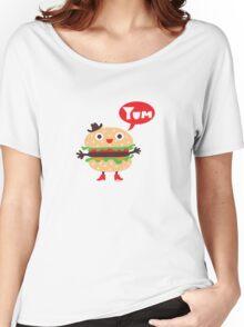 Cheeseburger yum Women's Relaxed Fit T-Shirt