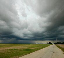 Road to a Split Sky by Dan Bronish
