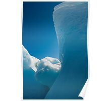 Iceberg tapped in the Arctic Ocean Poster