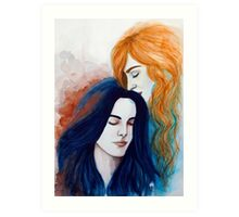 Breathe Me In, Let Me Be Your Air Art Print