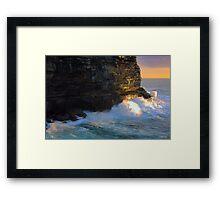 Eastern Surburbs  Headlands Framed Print
