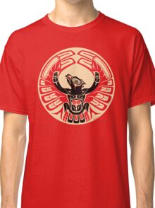 Firebird Thunderbird with Raised Wings, Native American Style Classic T-Shirt
