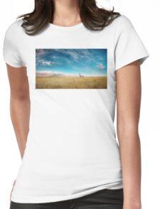 Breaking Bad Desert  Womens Fitted T-Shirt