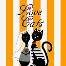 Love Cats Wedding by gretzky