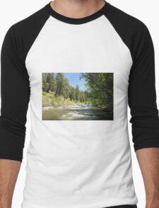 Piedra River Men's Baseball ¾ T-Shirt