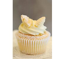 Cupcake for one Photographic Print