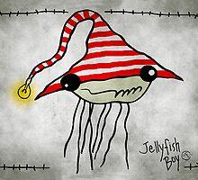 Jellyfish Boy by sandygrafik