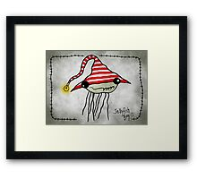Jellyfish Boy Framed Print