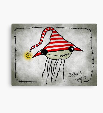 Jellyfish Boy Canvas Print