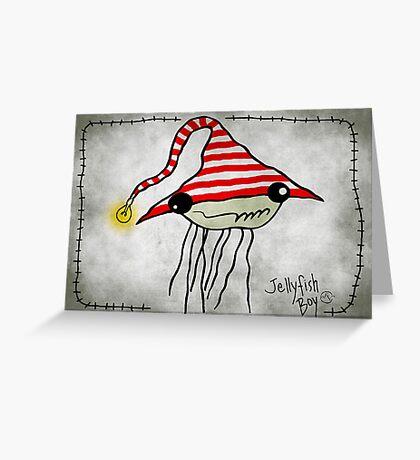 Jellyfish Boy Greeting Card